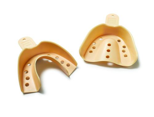 Sani-Trays Disp Impression Trays 12/Pk # 9 Anterior Non-Perf