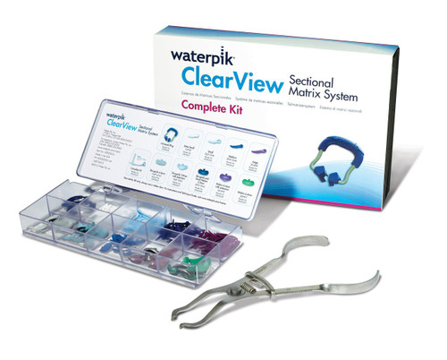 Waterpik Clearview Sectional Matrix System Complete Kit