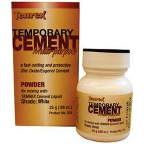 Temrex Cement - Powder 25G - White