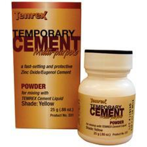 Temrex Cement - Powder 25G - Yellow