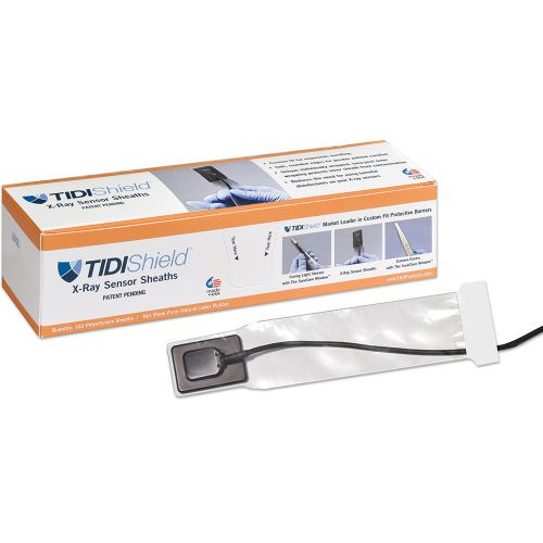 Tidi X-Ray Sensor Sheaths #2 Long Tip 100Pk