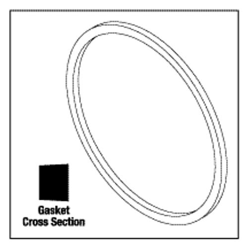 Tuttnauer Door Gasket / 2340 M, E, Ez9