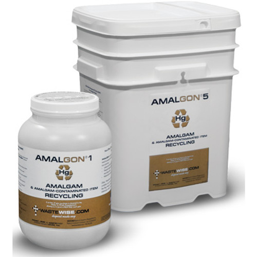 WCM Amalgon Amalgam Recycling Kit 1Gal