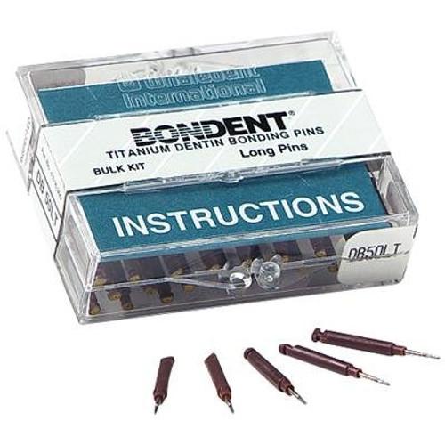 Bondent Dentin Bonding Pins Bulk Kit Long Pins 50/Pk