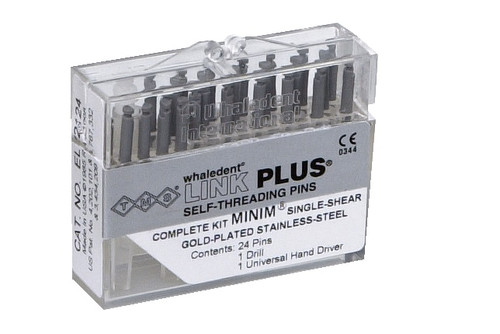 TMS Link Plus Minim Double Shear (Titanium) Bulk Kit (Silver
