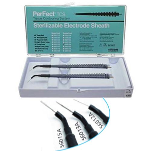 Perfect TCS Asst Electrod Sheaths (Coag Ball, 45 Straight K)