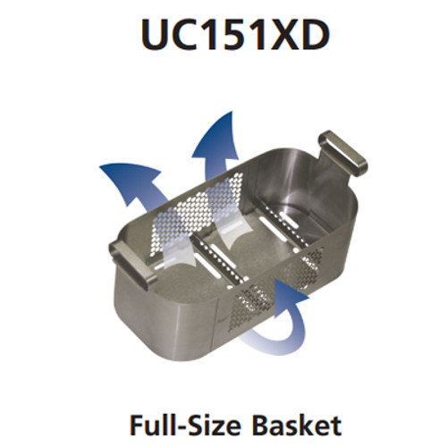 "Biosonic Full Size Finger Guard Instrument Basket (11"" X 5 3"