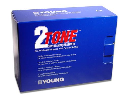2-Tone Disclosing Tablets 250Pk