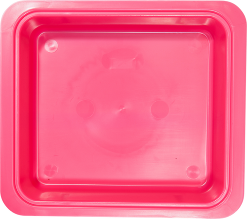 "Zirc Procedure Tub 12-1/4"" X 10-7/8"" X 2-3/4"" Pink Color"