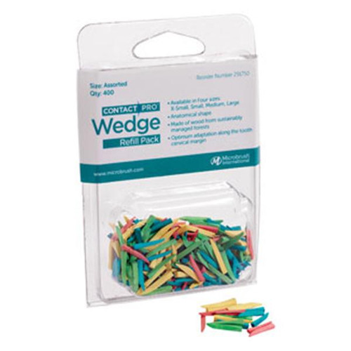 ContactPro Wedge Refill, Assorted, 400ct.