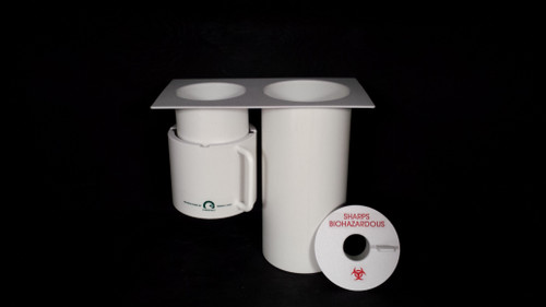 Greeno Combo Waste and Sharps Container Holder Large