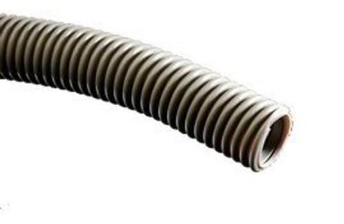 "Vacuum Tubing, 2"" I.D., Corrugated Gray"