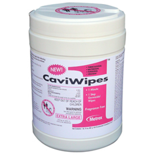 CaviWipes1 Surface Disinfectant Xlarge 9x12 65/Canister