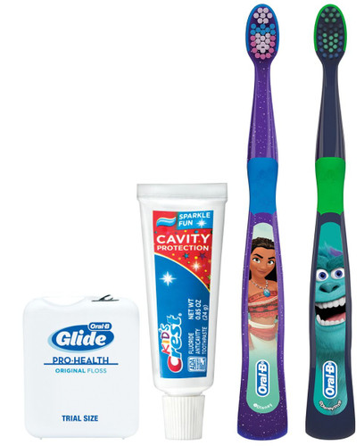 P&G Oral-B Kids 3+Years - Manual Solution Disney Bundle 72/case