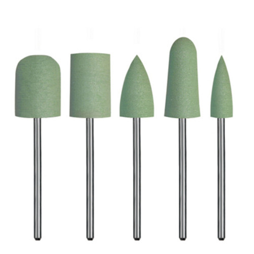 Polishing Silicone Jumbos Assortment - Green Coarse - 5/Kit