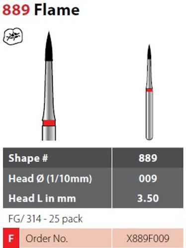 Alpen X1 Flame 25Pk, Fine X889F009