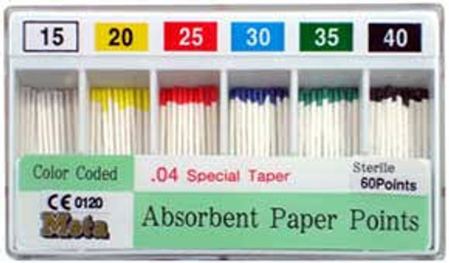 M&S  Absorbent Points #20 .04 Taper Cc 200/Bx