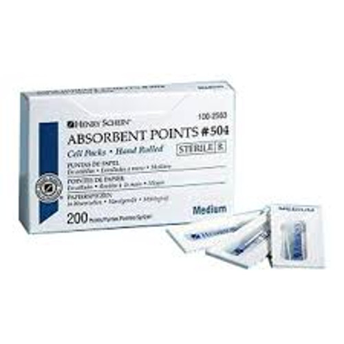 M&S Absorbent Points Cell-Medium 200/Bx