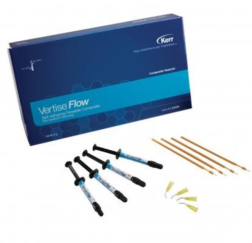 Kerr Vertise Flow Translucent Syringe 2Pk