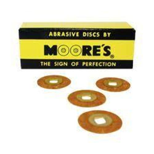 Moore Brass Cntr Garnet 3/4 Crse Disk Pk