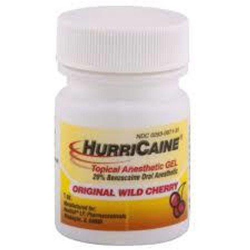 Hurricaine Topical Gel 1Oz Pina Colada