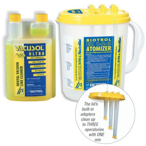 Vacusol Starter Kit-1 Qt Bottle W/ Ez123 Atomizer