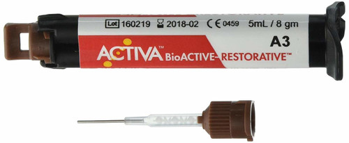 Pulpdent ActIva Bioactive Restorative A3.5 Single Refill 5mL