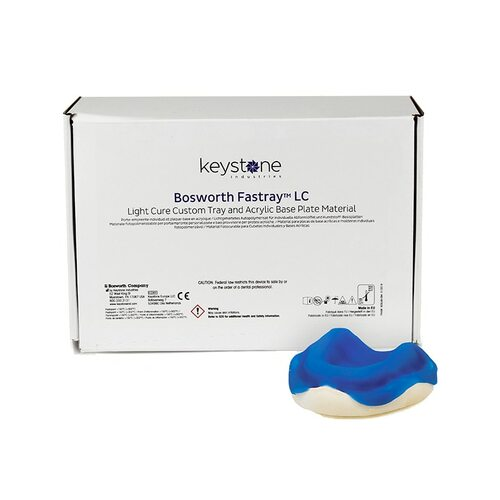 Fastray Light Cure Custom Tray Material Standard Kit, Blue