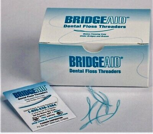 BridgeaID Floss Threaders Bx 1000