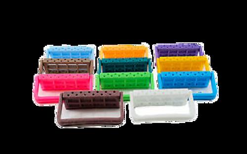 AllSmiles Plastic Bur Block Neon Green