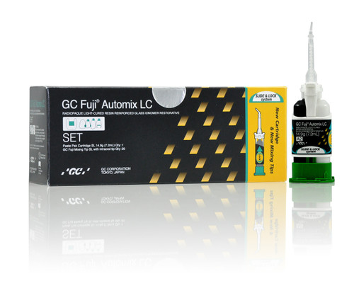 Gc Fuji Automix LC Set - A2 Shade 1X 14.9G Cartridge 20 Tips