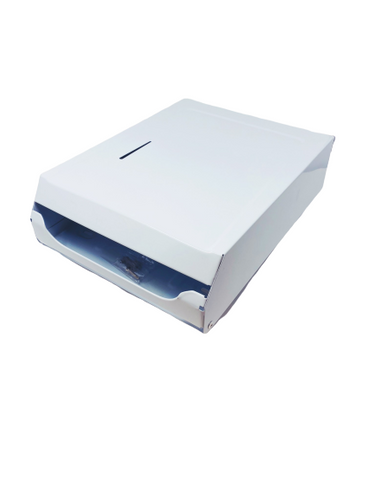 Crosstex C-Fold Towel White Dispenser