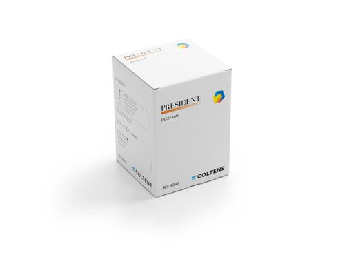 Coltene President Putty Soft Single Pk 600mL
