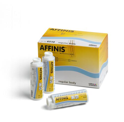 Coltene Affinis Microsystem Reg Body Single Pk (4 Cart.X 25M