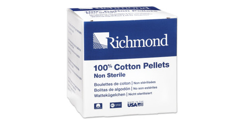 Cotton Pellet Blk #3