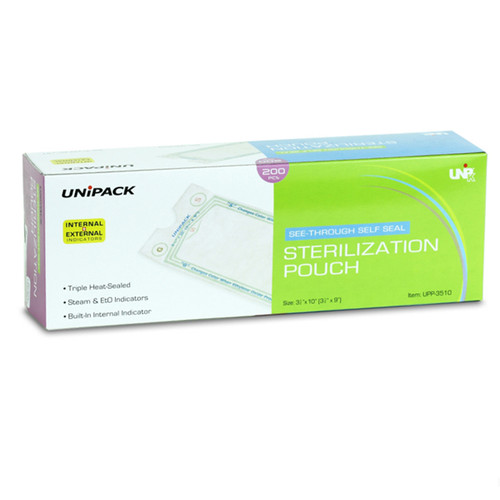 Sure Check Sterilization Pouches 12  X 18 100Pk