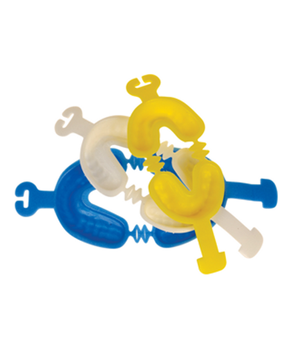 Zap Dual Arch Fluoride Gel Trays - Small, Yellow