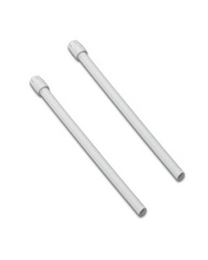 Saliva Ejectors White With White Tip, 100/Pkg