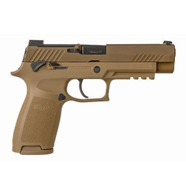 "Sig Sauer P320 M17 9MM 4.7"" 17Rd Coyote"