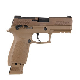 "Sig Sauer P320 M18 9MM 3.9"" 17Rd Coyote"