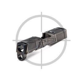 """Agency Arms P320 3.9"""" Compact/XCarry Gavel Slide Black DLC"""