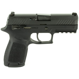 "Sig Sauer P320 Compact 9MM 3.9"" 10Rd Black, MA Compliant"
