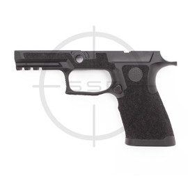 Agency Arms Sig P320 XCarry Stippled Grip Module, Standard, Medium, Black