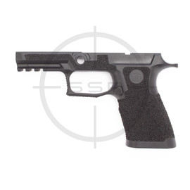 Agency Arms Sig P320 XCarry Stippled Grip Module, Coral, Medium, Black