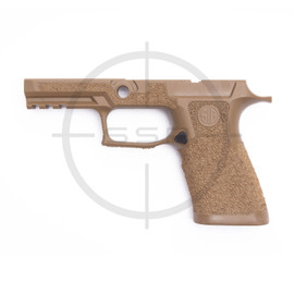 Agency Arms Sig P320 XCarry Stippled Grip Module, Coral, Medium, Coyote