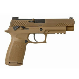 "Sig Sauer P320 M17 9MM 4.7"" 10Rd Coyote, Massachusetts Compliant"