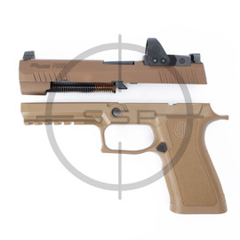 """Completion Kit - Sig Sauer P320 XFull Pro ROMEO1PRO 9MM 4.7"""", Coyote"""