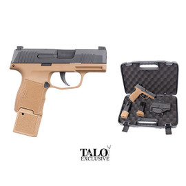 """Sig Sauer P365 TacPac 9MM 3.1"""" 15Rd Coyote"""