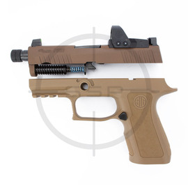"""Completion Kit - Sig Sauer P320 XCompact Pro Threaded Romeo1Pro 9MM 3.6"""", Coyote"""