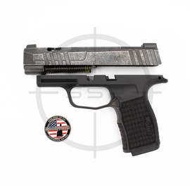 """Completion Kit - Sig Sauer P365XL Spectre 9MM 3.7"""" X-RAY3 w/ Night Sight Plate, Black"""